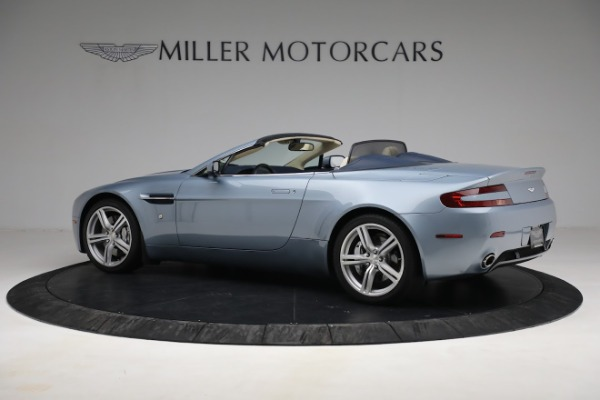 Used 2009 Aston Martin V8 Vantage Roadster for sale Call for price at Bugatti of Greenwich in Greenwich CT 06830 3
