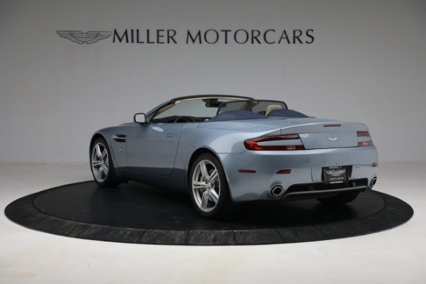 Used 2009 Aston Martin V8 Vantage Roadster for sale Call for price at Bugatti of Greenwich in Greenwich CT 06830 4