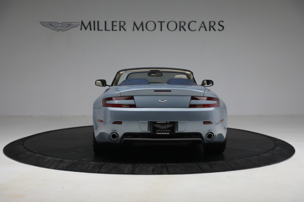 Used 2009 Aston Martin V8 Vantage Roadster for sale Call for price at Bugatti of Greenwich in Greenwich CT 06830 5