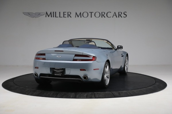 Used 2009 Aston Martin V8 Vantage Roadster for sale Call for price at Bugatti of Greenwich in Greenwich CT 06830 6