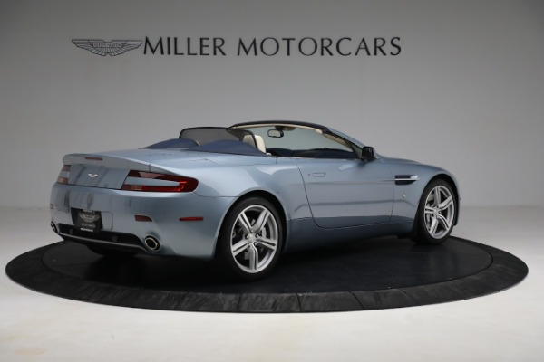 Used 2009 Aston Martin V8 Vantage Roadster for sale Call for price at Bugatti of Greenwich in Greenwich CT 06830 7
