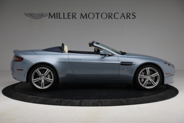 Used 2009 Aston Martin V8 Vantage Roadster for sale Call for price at Bugatti of Greenwich in Greenwich CT 06830 8