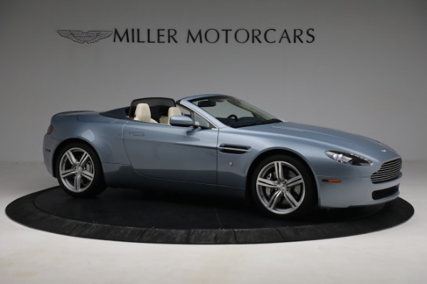 Used 2009 Aston Martin V8 Vantage Roadster for sale Call for price at Bugatti of Greenwich in Greenwich CT 06830 9