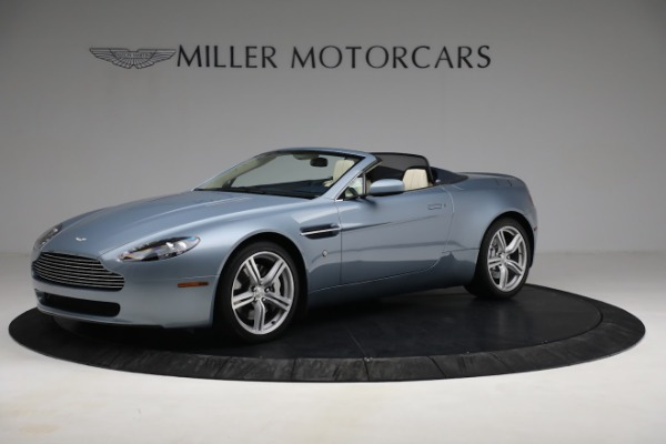 Used 2009 Aston Martin V8 Vantage Roadster for sale Call for price at Bugatti of Greenwich in Greenwich CT 06830 1