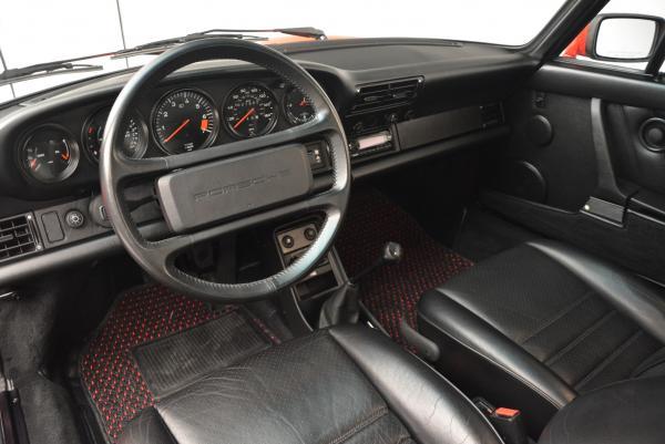 Used 1988 Porsche 911 Carrera for sale Sold at Bugatti of Greenwich in Greenwich CT 06830 13