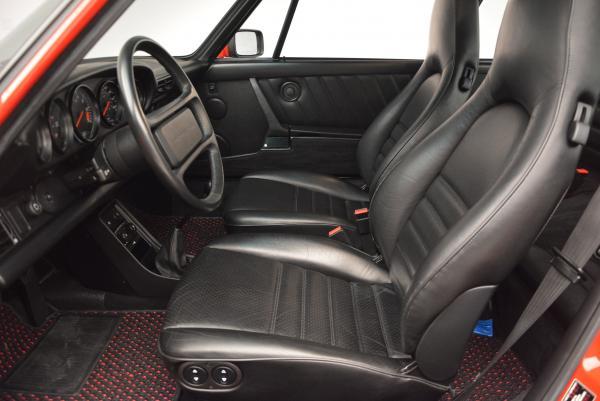 Used 1988 Porsche 911 Carrera for sale Sold at Bugatti of Greenwich in Greenwich CT 06830 14