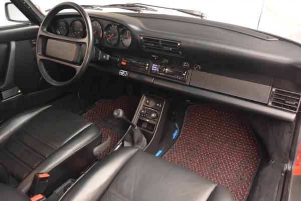 Used 1988 Porsche 911 Carrera for sale Sold at Bugatti of Greenwich in Greenwich CT 06830 18