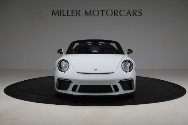 Used 2019 Porsche 911 Speedster for sale Sold at Bugatti of Greenwich in Greenwich CT 06830 12