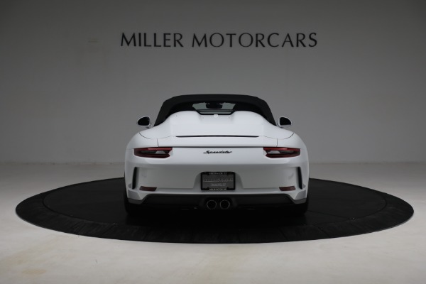 Used 2019 Porsche 911 Speedster for sale Sold at Bugatti of Greenwich in Greenwich CT 06830 16