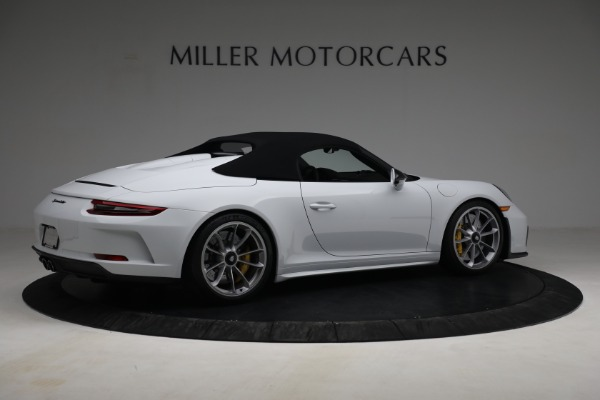 Used 2019 Porsche 911 Speedster for sale Sold at Bugatti of Greenwich in Greenwich CT 06830 18