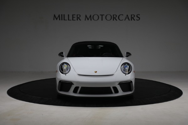 Used 2019 Porsche 911 Speedster for sale Sold at Bugatti of Greenwich in Greenwich CT 06830 19
