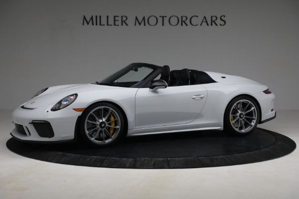 Used 2019 Porsche 911 Speedster for sale Sold at Bugatti of Greenwich in Greenwich CT 06830 2