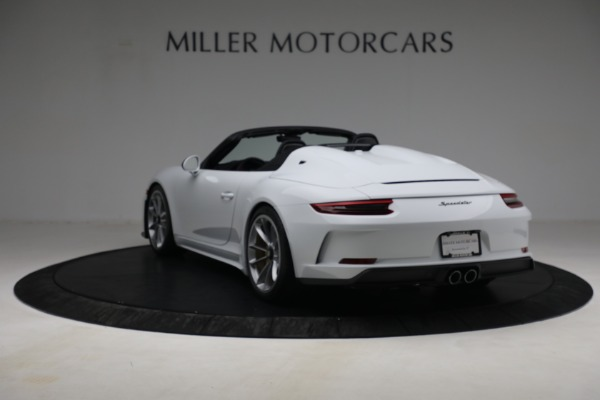 Used 2019 Porsche 911 Speedster for sale Sold at Bugatti of Greenwich in Greenwich CT 06830 5
