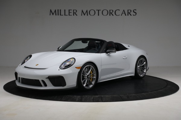 Used 2019 Porsche 911 Speedster for sale Sold at Bugatti of Greenwich in Greenwich CT 06830 1