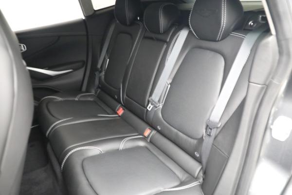 New 2021 Aston Martin DBX for sale $202,286 at Bugatti of Greenwich in Greenwich CT 06830 21
