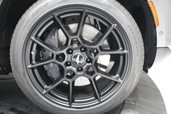 New 2021 Aston Martin DBX for sale $202,286 at Bugatti of Greenwich in Greenwich CT 06830 28