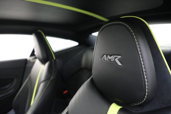 Used 2019 Aston Martin DB11 AMR for sale Call for price at Bugatti of Greenwich in Greenwich CT 06830 17