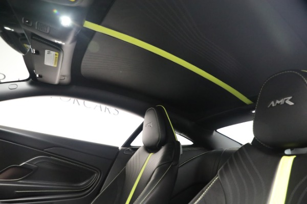 Used 2019 Aston Martin DB11 AMR for sale Call for price at Bugatti of Greenwich in Greenwich CT 06830 18