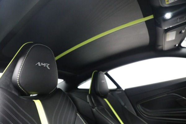 Used 2019 Aston Martin DB11 AMR for sale Call for price at Bugatti of Greenwich in Greenwich CT 06830 24