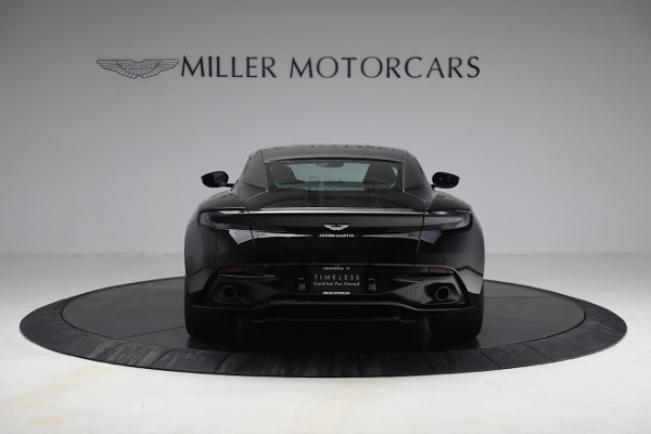 Used 2019 Aston Martin DB11 AMR for sale Call for price at Bugatti of Greenwich in Greenwich CT 06830 5