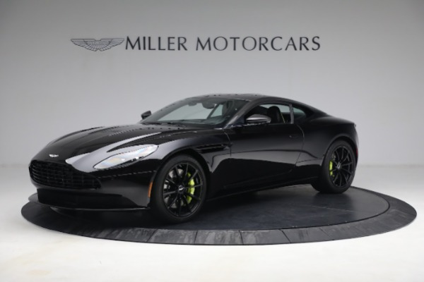 Used 2019 Aston Martin DB11 AMR for sale Call for price at Bugatti of Greenwich in Greenwich CT 06830 1