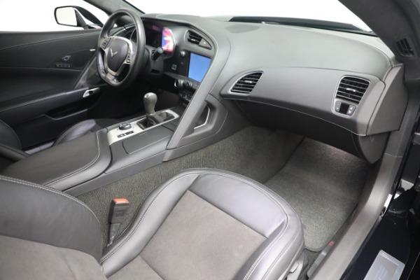 Used 2016 Chevrolet Corvette Z06 for sale $85,900 at Bugatti of Greenwich in Greenwich CT 06830 22