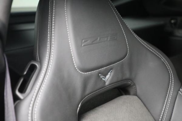 Used 2016 Chevrolet Corvette Z06 for sale $85,900 at Bugatti of Greenwich in Greenwich CT 06830 25