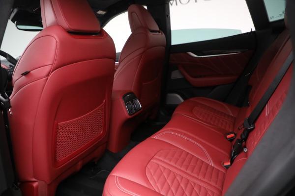 New 2022 Maserati Levante Trofeo for sale $155,045 at Bugatti of Greenwich in Greenwich CT 06830 22