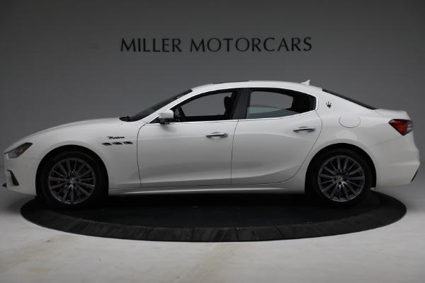 New 2022 Maserati Ghibli Modena Q4 for sale $86,645 at Bugatti of Greenwich in Greenwich CT 06830 3