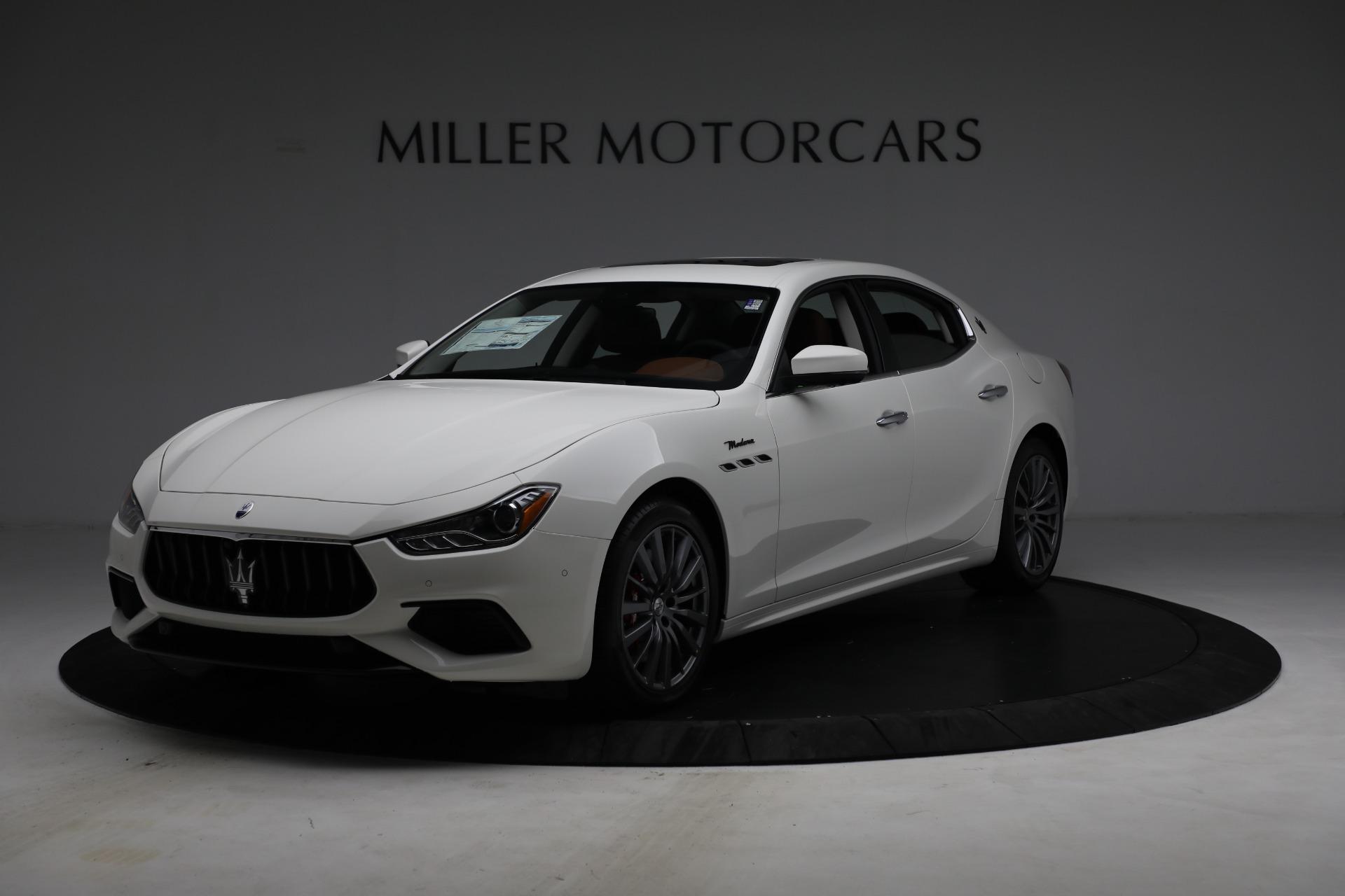 New 2022 Maserati Ghibli Modena Q4 for sale $86,645 at Bugatti of Greenwich in Greenwich CT 06830 1
