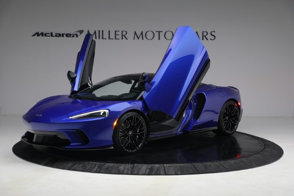 New 2022 McLaren GT Luxe for sale $228,080 at Bugatti of Greenwich in Greenwich CT 06830 14
