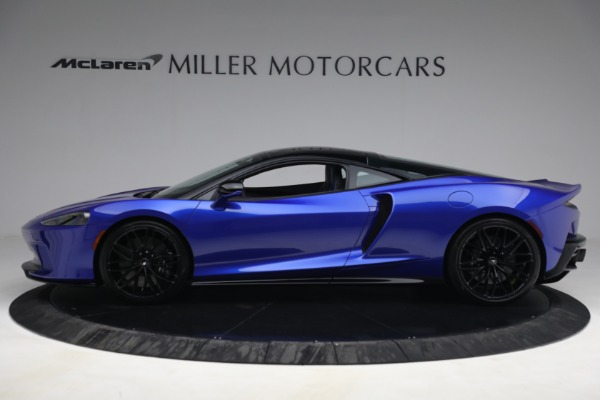 New 2022 McLaren GT Luxe for sale $228,080 at Bugatti of Greenwich in Greenwich CT 06830 3