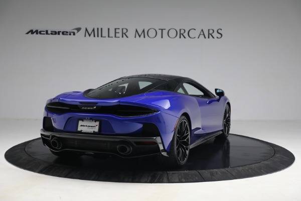 New 2022 McLaren GT Luxe for sale $228,080 at Bugatti of Greenwich in Greenwich CT 06830 7