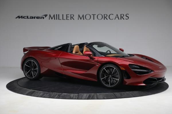 New 2022 McLaren 720S Spider for sale $382,090 at Bugatti of Greenwich in Greenwich CT 06830 10