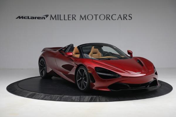 New 2022 McLaren 720S Spider for sale $382,090 at Bugatti of Greenwich in Greenwich CT 06830 11