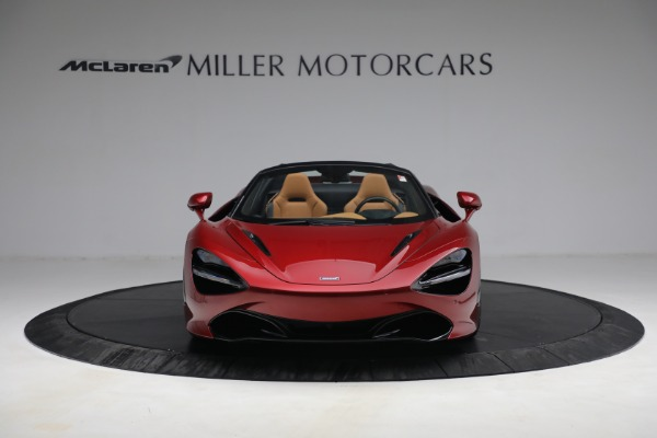 New 2022 McLaren 720S Spider for sale $382,090 at Bugatti of Greenwich in Greenwich CT 06830 12