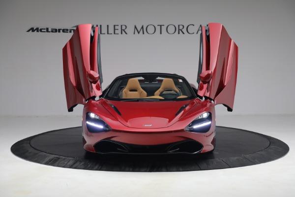 New 2022 McLaren 720S Spider for sale $382,090 at Bugatti of Greenwich in Greenwich CT 06830 13