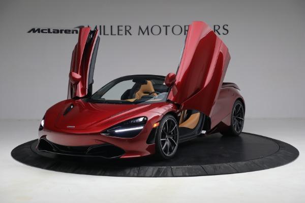 New 2022 McLaren 720S Spider for sale $382,090 at Bugatti of Greenwich in Greenwich CT 06830 14