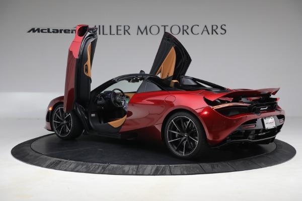 New 2022 McLaren 720S Spider for sale $382,090 at Bugatti of Greenwich in Greenwich CT 06830 16