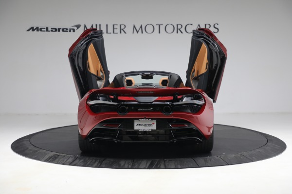 New 2022 McLaren 720S Spider for sale $382,090 at Bugatti of Greenwich in Greenwich CT 06830 17