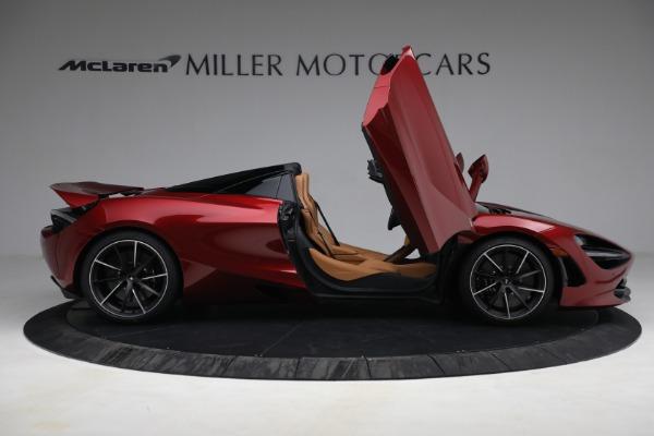 New 2022 McLaren 720S Spider for sale $382,090 at Bugatti of Greenwich in Greenwich CT 06830 19