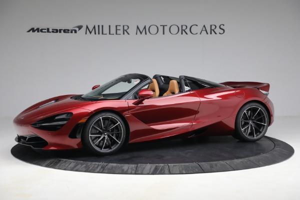New 2022 McLaren 720S Spider for sale $382,090 at Bugatti of Greenwich in Greenwich CT 06830 2