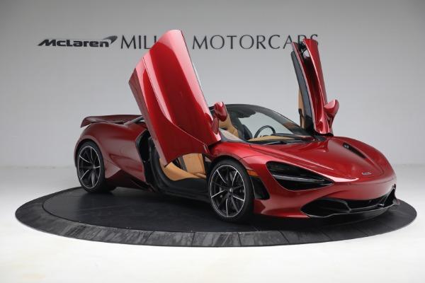 New 2022 McLaren 720S Spider for sale $382,090 at Bugatti of Greenwich in Greenwich CT 06830 20
