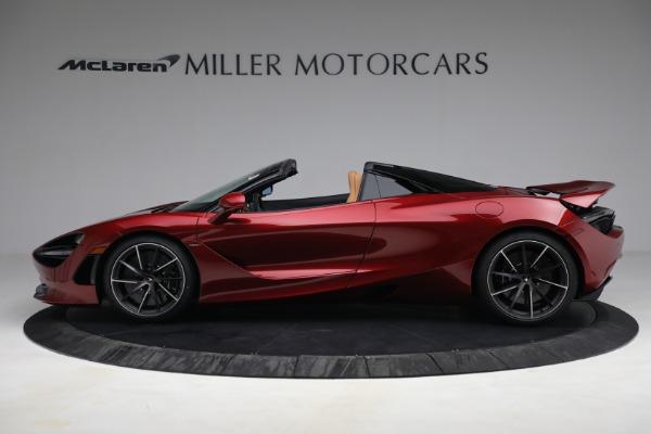 New 2022 McLaren 720S Spider for sale $382,090 at Bugatti of Greenwich in Greenwich CT 06830 3