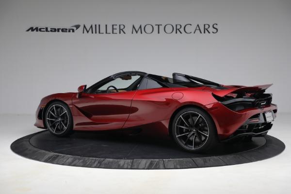 New 2022 McLaren 720S Spider for sale $382,090 at Bugatti of Greenwich in Greenwich CT 06830 4