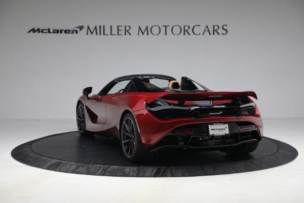 New 2022 McLaren 720S Spider for sale $382,090 at Bugatti of Greenwich in Greenwich CT 06830 5