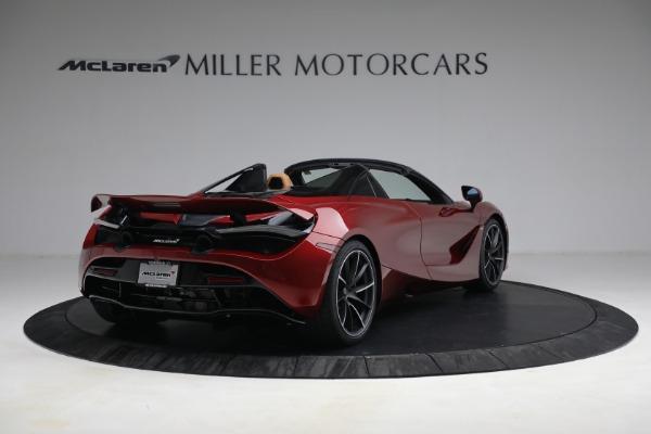 New 2022 McLaren 720S Spider for sale $382,090 at Bugatti of Greenwich in Greenwich CT 06830 7