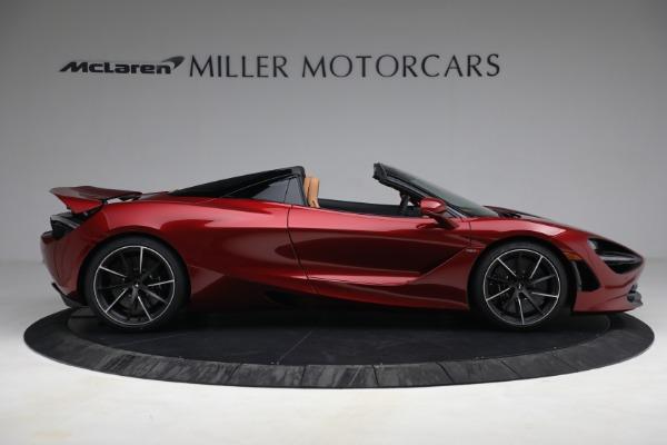 New 2022 McLaren 720S Spider for sale $382,090 at Bugatti of Greenwich in Greenwich CT 06830 9