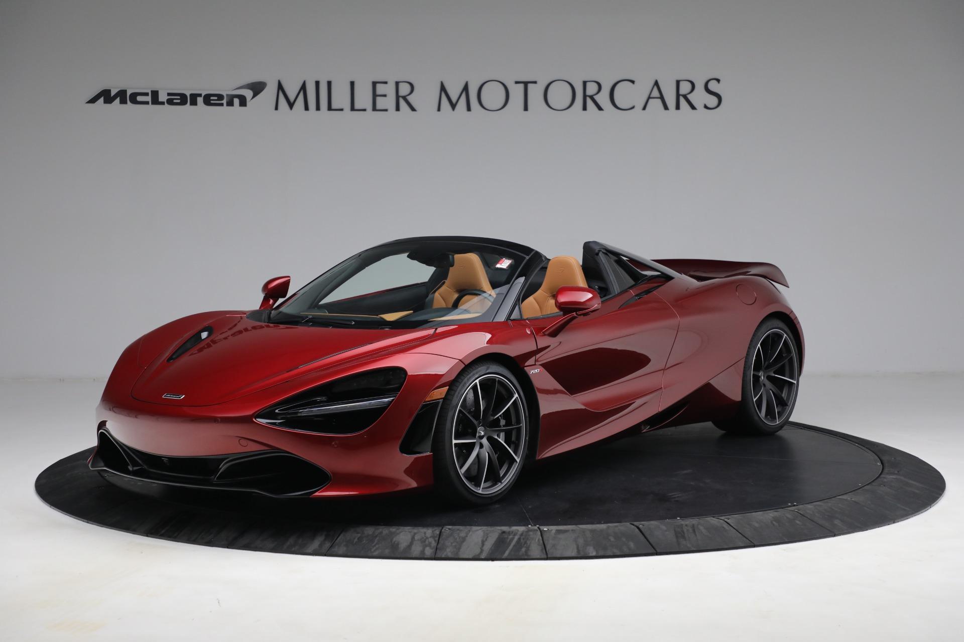 New 2022 McLaren 720S Spider for sale $382,090 at Bugatti of Greenwich in Greenwich CT 06830 1