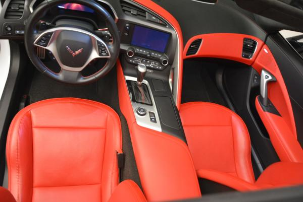 Used 2014 Chevrolet Corvette Stingray Z51 for sale Sold at Bugatti of Greenwich in Greenwich CT 06830 17